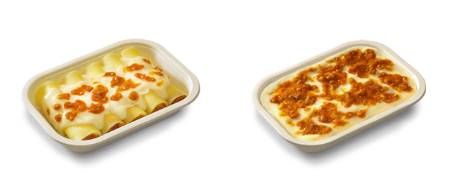 Lasagne and cannelloni